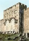 Jerusalem Mercy Gate, around 1900.