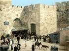 The Jaffa Gate, Jerusalem, around 1900