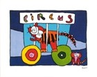 Circus Lion By