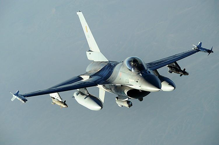 Belgian military F-16