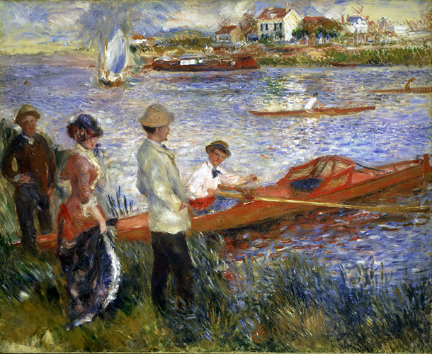 Rowers at Chatou, 1880-81