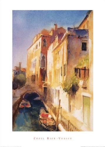 Bridge And Walkway, Venice