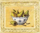 Fresh Bowl Of Pears