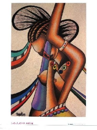 Femme De La Tribu Peul