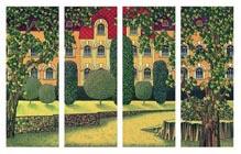 Magic Castel - Original mixed-media on canvas