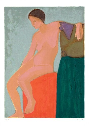 Seated Nude - Lidia (S.G.) - Edition 202