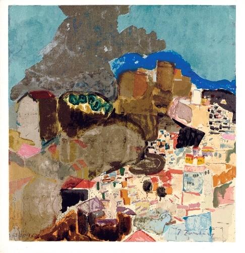 Safed Landscape, 1924 (S.G.) - Edition 270