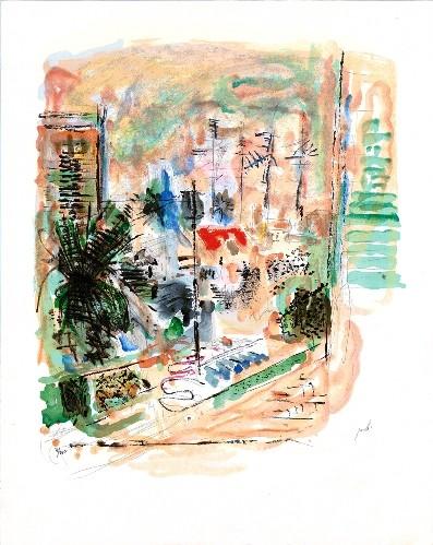 City-scape, Shlomzion Street, Tel-Aviv (S.G.)
